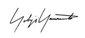 Yohji Yamamoto ヨウジヤマモト